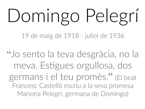 Domingo Pelegrí Esquerda